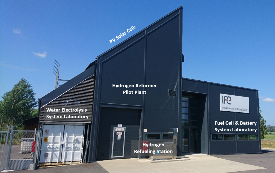 The Norwegian Fuel Cell and Hydrogen Systems Laboratory (N-FCH) - IFE