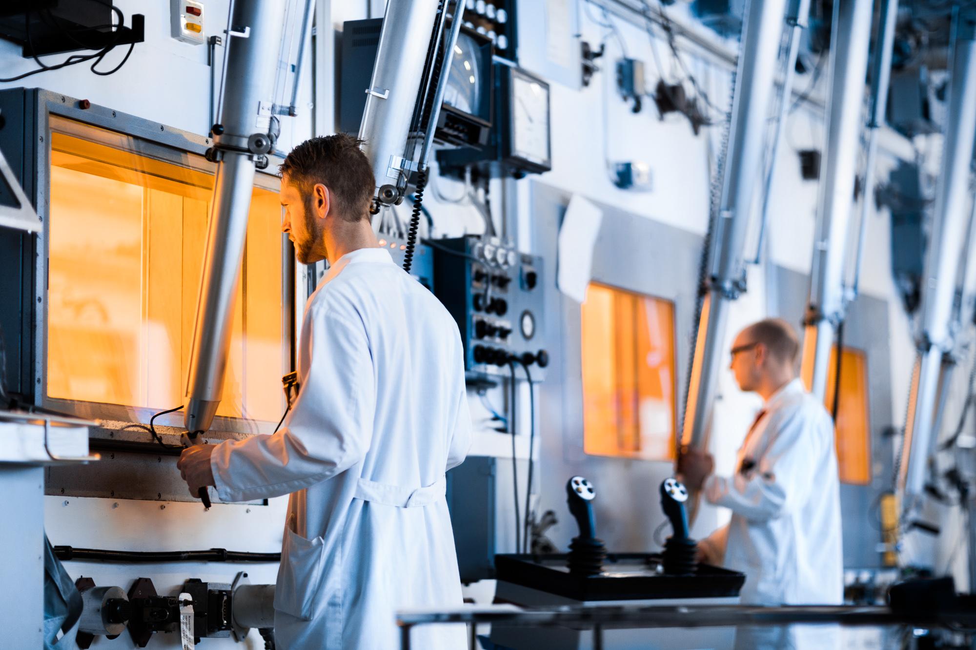 Hotcell-laboratoriet hos Studsvik